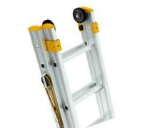 Výsuvné rebríky s lanom