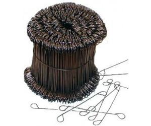 Drôt s očkami čierny