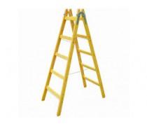 Drevený rebrík záhradný