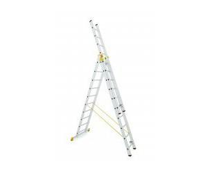 Trojdielne univerzálne rebríky profi