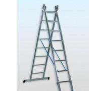 Dvojdielne univerzálne rebríky profi plus