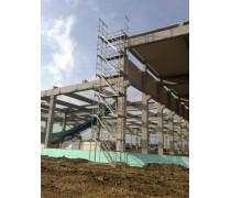 Schodiskový výstup k fasádnemu lešeniu 8 m