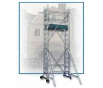 Prenájom -Lešenie Enzian rozmer podlážky 0,6m x 1,5m pracovná výška 5,2m