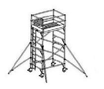 Prenájom -WPK rozmer podlážky 0,75/1,35 x 2,0 m pracovná výška 5,5 m