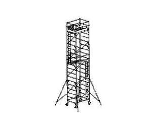 WPK rozmer podlážky 1,35 x 2,0 m pracovná výška 10,5 m