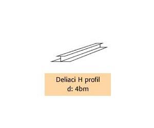 Deliaci H profil