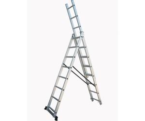 Trojdielne univerzálne rebríky