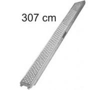 Oceľová podlážka 0,32 x 3,07m